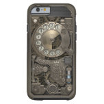 Steampunk Rotary Metal Dial Phone. Case. Tough iPhone 6 Case