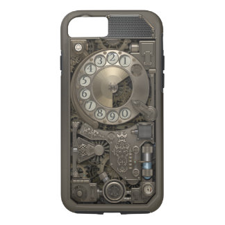 Steampunk Rotary Metal Dial Phone. Case. iPhone 8/7 Case