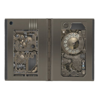Steampunk Rotary Metal Dial Phone. Cover For iPad Mini