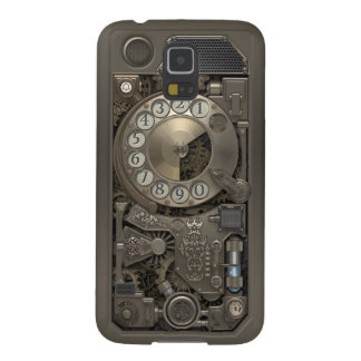 Steampunk Rotary Metal Dial Phone. Galaxy S5 Cases