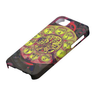 steampunk rotary style iphone iPhone 5 cover