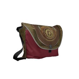 Steampunk Rusty Cogs Messenger Bag