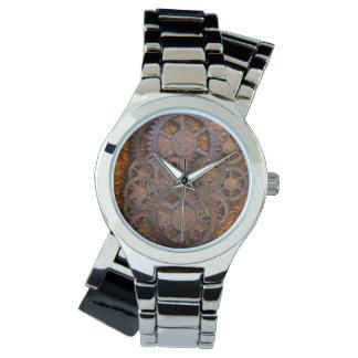 Steampunk Rusty Cogs Watch