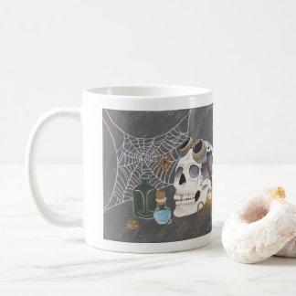 Steampunk Skull Mug
