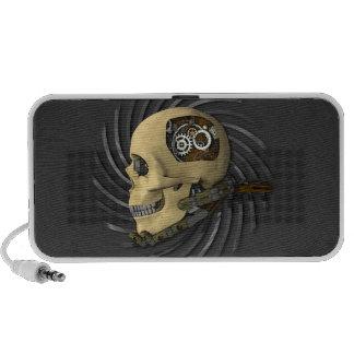 Steampunk Skull Travel Speaker