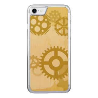 Steampunk smartphone Wood Case