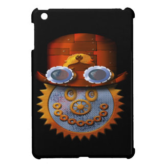 steampunk smiley iPad mini cases