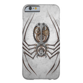 Steampunk Spider on Rough Steel Barely There iPhone 6 Case