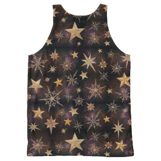 Steampunk Stars All-Over Print Singlet