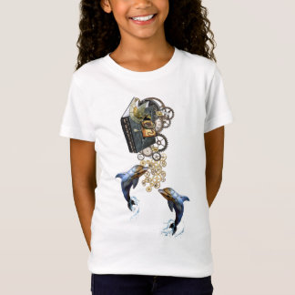 Steampunk-story telling shirt design