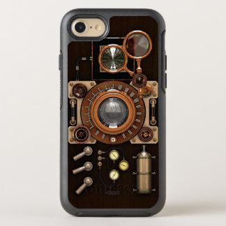 Steampunk Style Vintage Retro Camera (TLR) OtterBox Symmetry iPhone 8/7 Case