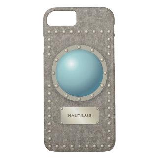 Steampunk submarine hublot iPhone 8/7 case