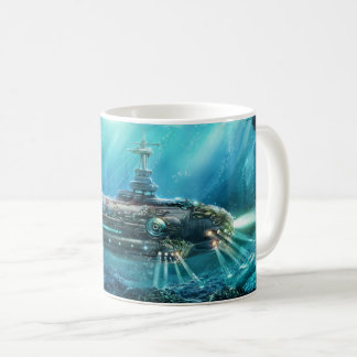 Steampunk Submarine Mug
