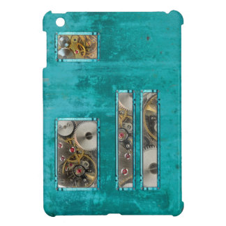 Steampunk Teal iPad Mini Covers