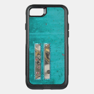 Steampunk Teal OtterBox Commuter iPhone 8/7 Case