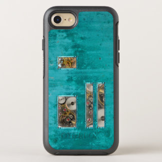 Steampunk Teal OtterBox Symmetry iPhone 8/7 Case