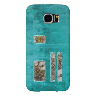 Steampunk Teal Samsung Galaxy S6 Cases