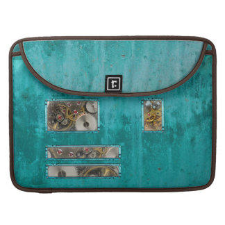Steampunk Teal Sleeve For MacBooks