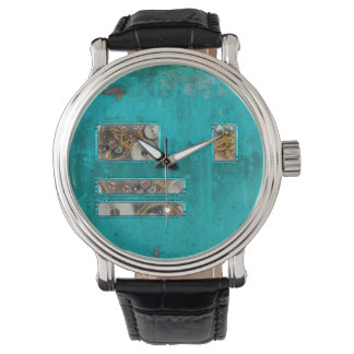 Steampunk Teal Watch