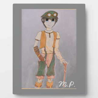 Steampunk Teen Display Plaques