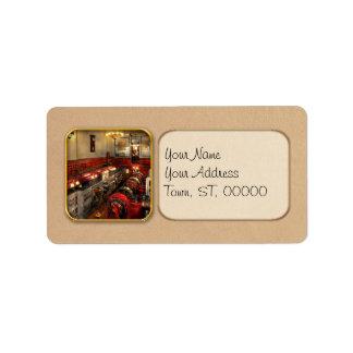 Steampunk - The Engine Room 1974 Address Label