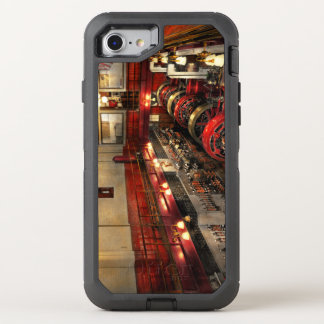 Steampunk - The Engine Room 1974 OtterBox Defender iPhone 8/7 Case