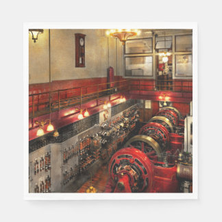 Steampunk - The Engine Room 1974 Paper Napkin