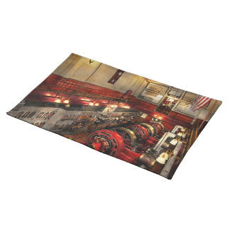 Steampunk - The Engine Room 1974 Placemat