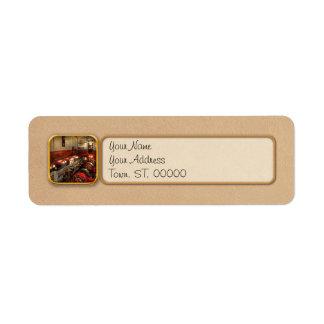 Steampunk - The Engine Room 1974 Return Address Label
