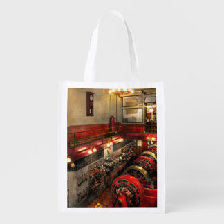 Steampunk - The Engine Room 1974 Reusable Grocery Bag