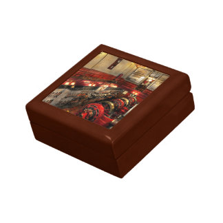 Steampunk - The Engine Room 1974 Small Square Gift Box