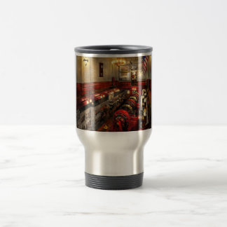 Steampunk - The Engine Room 1974 Travel Mug