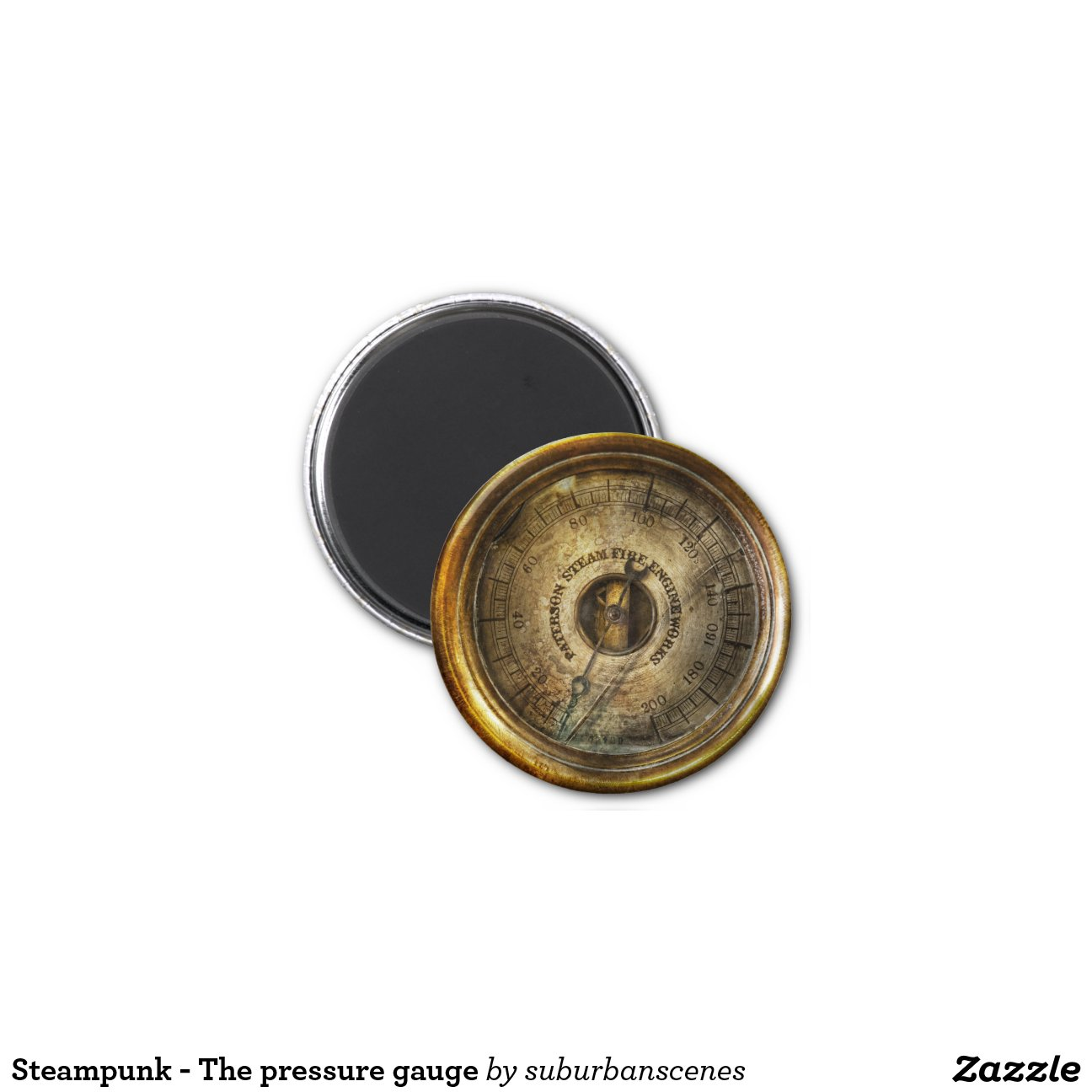 Steampunk the pressure gauge zazzle - Steampunk pressure gauge ...