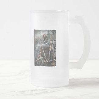 Steampunk - The Steam Engine Coffee Mugs