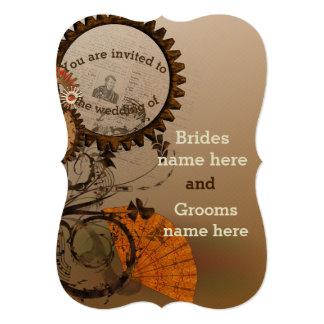 Steampunk Themed Wedding invitation