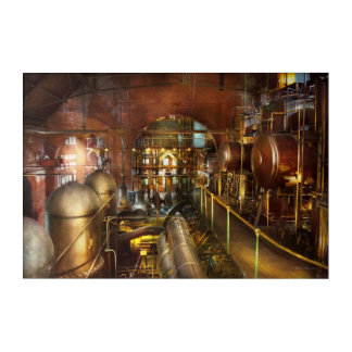 Steampunk - Think Tanks Acrylic Print