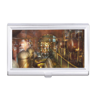 Steampunk - Think Tanks Business Card Holder