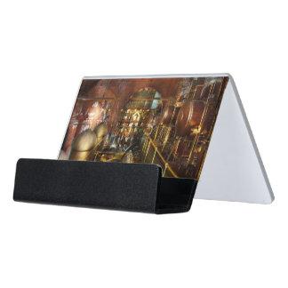 Steampunk - Think Tanks Desk Business Card Holder
