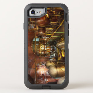 Steampunk - Think Tanks OtterBox Defender iPhone 8/7 Case