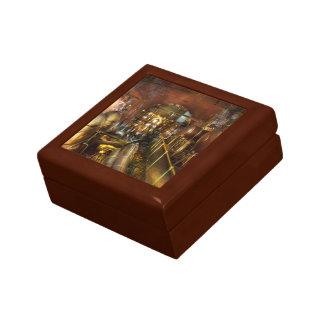 Steampunk - Think Tanks Small Square Gift Box