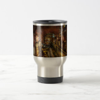 Steampunk - Think Tanks Travel Mug