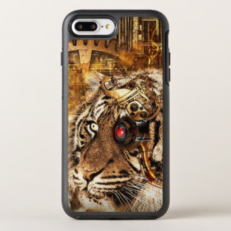 Steampunk Tiger OtterBox Symmetry iPhone 8 Plus/7 Plus Case