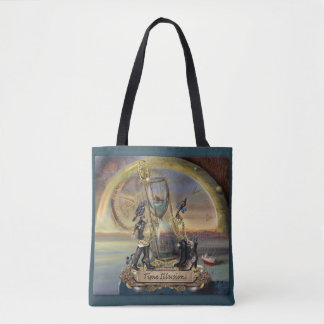 Steampunk - Time illusions Tote Bag