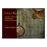 Steampunk Time Machine Business Profile Cards Pack Of Chubby Business Cards
