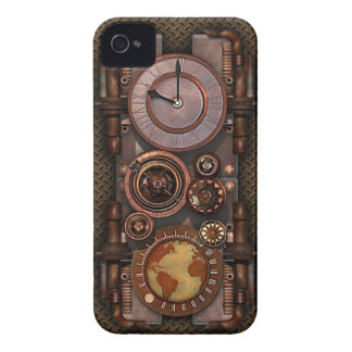 Steampunk timepiece v2 iPhone 4 covers