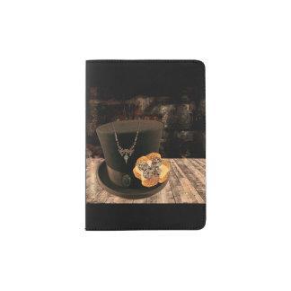 Steampunk Top Hat Passport Case Passport Holder