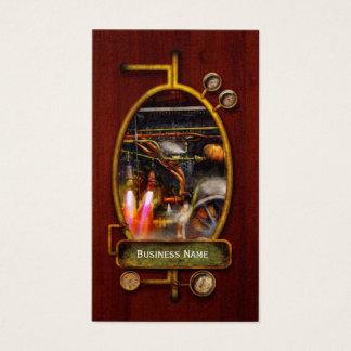 Steampunk - Train - The super express Business Card
