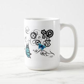 Steampunk Tribal Butterflies Mug