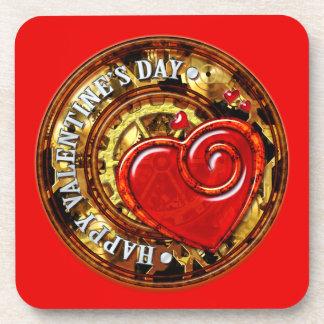 Steampunk Valentine 1 Coaster