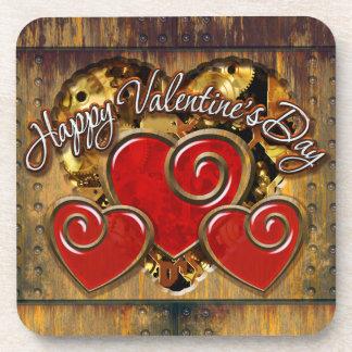 Steampunk Valentine 3 Coaster